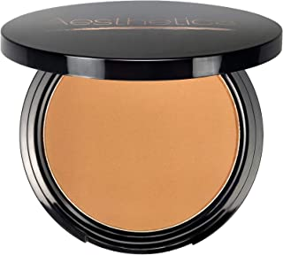 Aesthetica Sunset Bronzer Powder - Matte Bronzing Powder Makeup Contouring Powder - Vegan & Cruelty Free