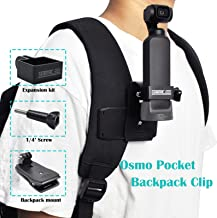 STARTRC Osmo Pocket Mount Tripod Backpack Clip Accessories for DJI OSMO Pocket /OSMO Action Camera Stabilizer Controller Wheel Part