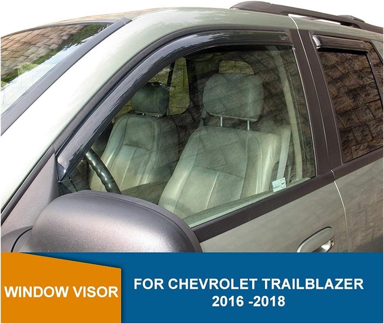 Milwaukee Mall MYDH Window Visor Deflectors for 2016 2017 Chevrolet Trailblazer Omaha Mall