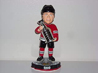 Jonathan Toews Chicago Blackhawks 2015 Springy Logo Action Bobble Head Forever Collectibles Foco