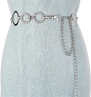 7ac906a1 Amazon.es: cadenas plata mujer - Cinturones / Accesorios: Ropa