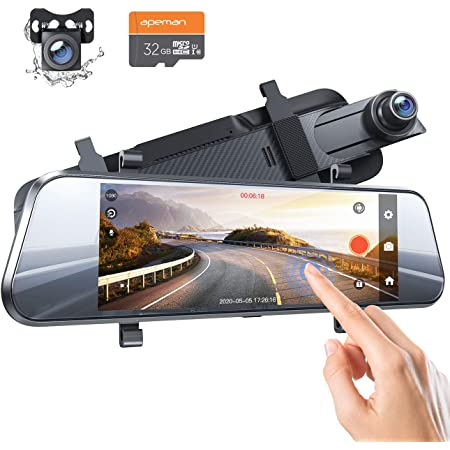 Apeman 7 Zoll Ips Touchscreen Spiegel Dashcam Mit Elektronik