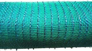 YYCRAFT 10 Yards Metallic Deco Poly Mesh Ribbon for Decoration/Wreath Making Craft (10