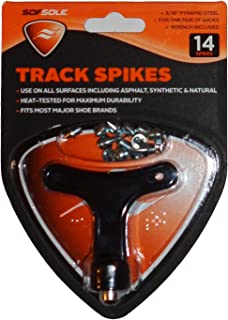 """Sof Sole Steel Needle Track Cleat 3/16-inch (3/16"""")"""