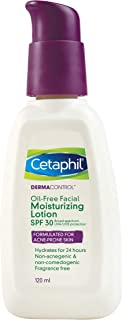 Cetaphil Dermacontrol Facial Moisturizer Spf 30,120Ml