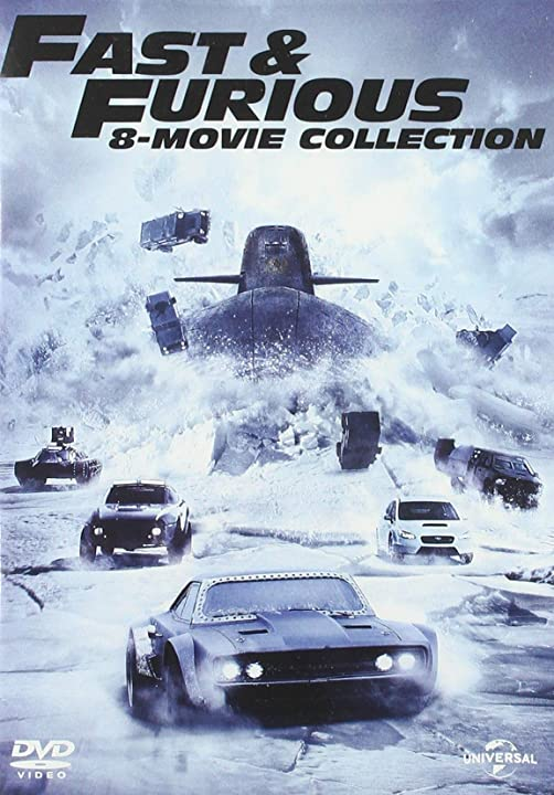 fast & furious 1,8 (box 8 dvd) b072km4h9z