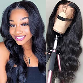 Lemoda Lace Front Wigs Brazilian Body Wave Human Hair Wigs For Black Women 150% Density Pre Plucked with Baby Hair Natural...