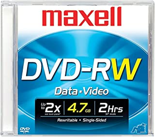 MAXELL 635110 DVD-RW Recordable DVD (Discontinued by Manufacturer)
