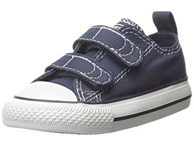 Converse Kids SINGLE SHOE Chuck Taylor(r) 2V Ox (Infant/Toddler) (Athletic Navy) Kids Shoes