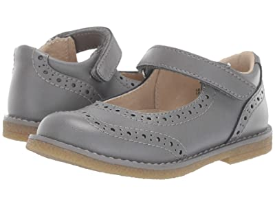 FootMates Lydia (Toddler/Little Kid) (Gray Burnished) Girl
