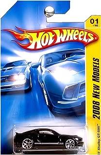 Hot Wheels 2008 001 New Models 2007 '07 Shelby GT-500 Black GT 500 2008 1 1:64 Scale