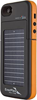 EnerPlex Surfr Ultra Slim Battery Backup & Solar Powered Case for iPhone SE/5/5S,..