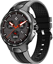 Smart Watch, Fitness Tracker with Blood Pressure Monitor Blood Oxygen Meter Heart Rate Monitor, IP68 Waterproof Pedometer Smartwatch with Sleep Monitor, 24 Sports Modes Compatible for iPhone Android Phones