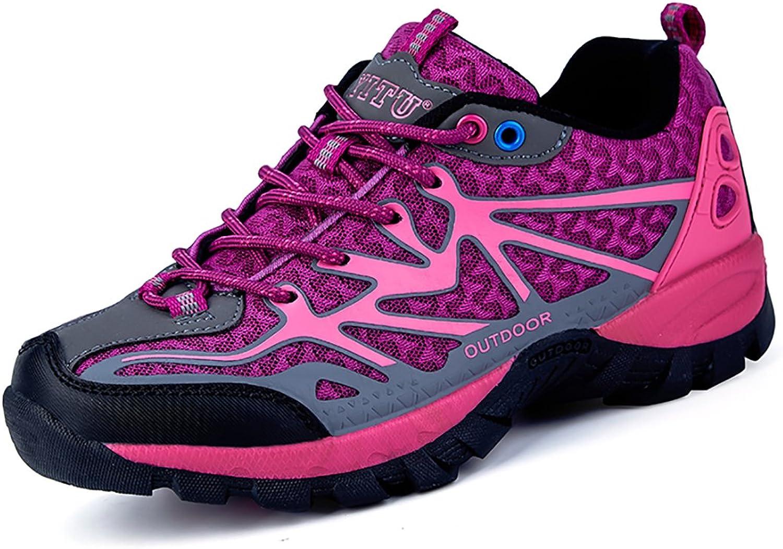YITU Women's Hiking shoes Outdoor Trekking Sneakers Fashion Climbing Moutain shoes