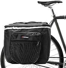 Sunshine smile Bolsas Bicicletas traseras,Bolsa Doble Bicicleta,alforjas Bicicleta Impermeable,Pannier Bag,alforjas Bicicleta montaña