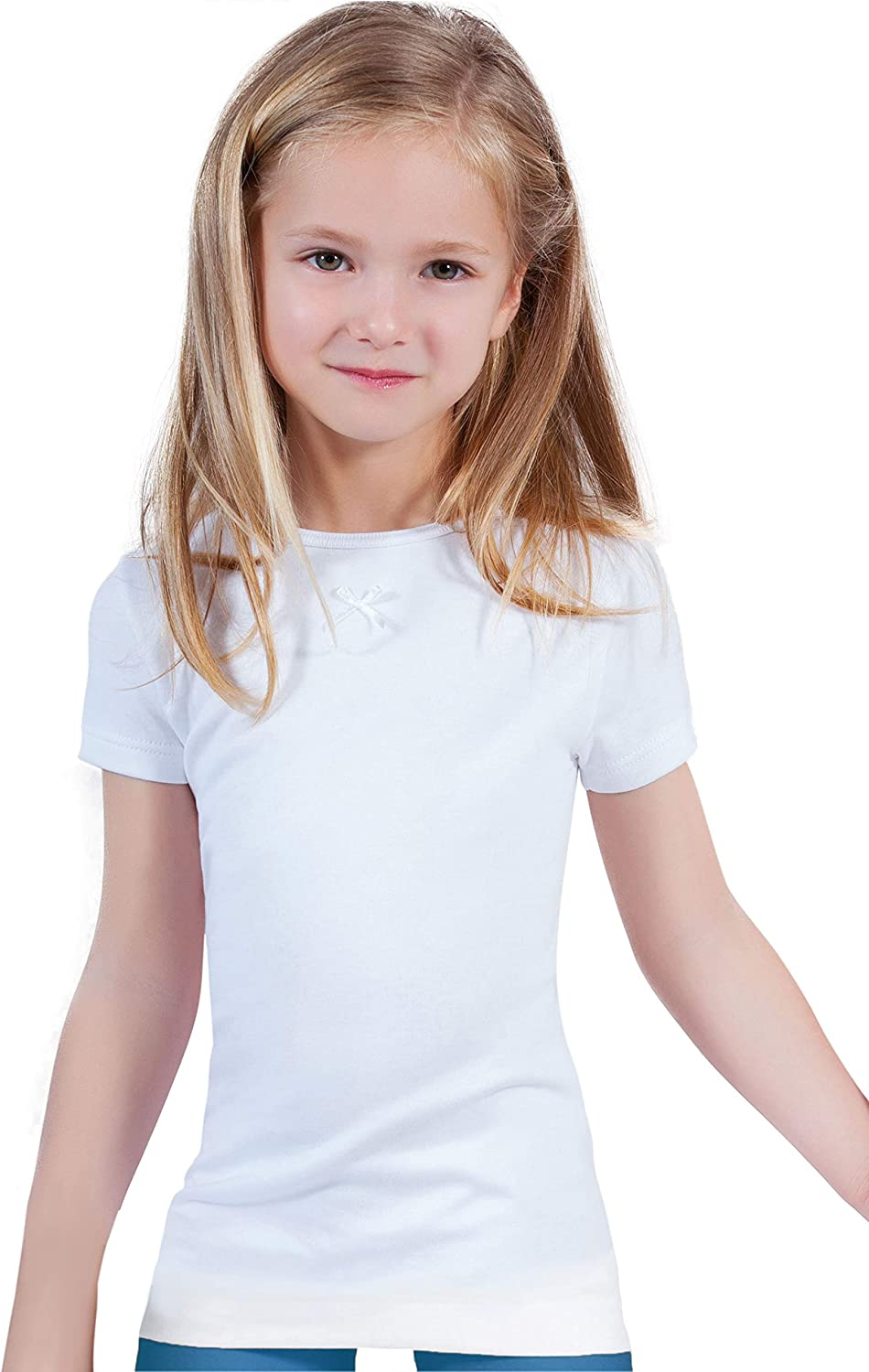 MaRe Premium Quality 100% Brushed Girl's Miami Mall Boy's Slee Short Import Cotton
