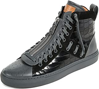 BALLY Mens Hekem High Top Sneakers