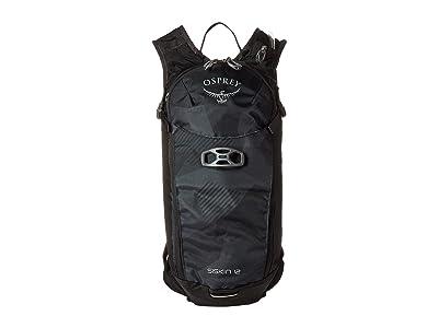 Osprey Siskin 12 (Obsidian Black) Backpack Bags