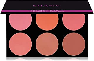 """SHANY Masterpiece 6 Colors Large Blush Palette/Refill -""""SHE'S NOT SHY"""""""