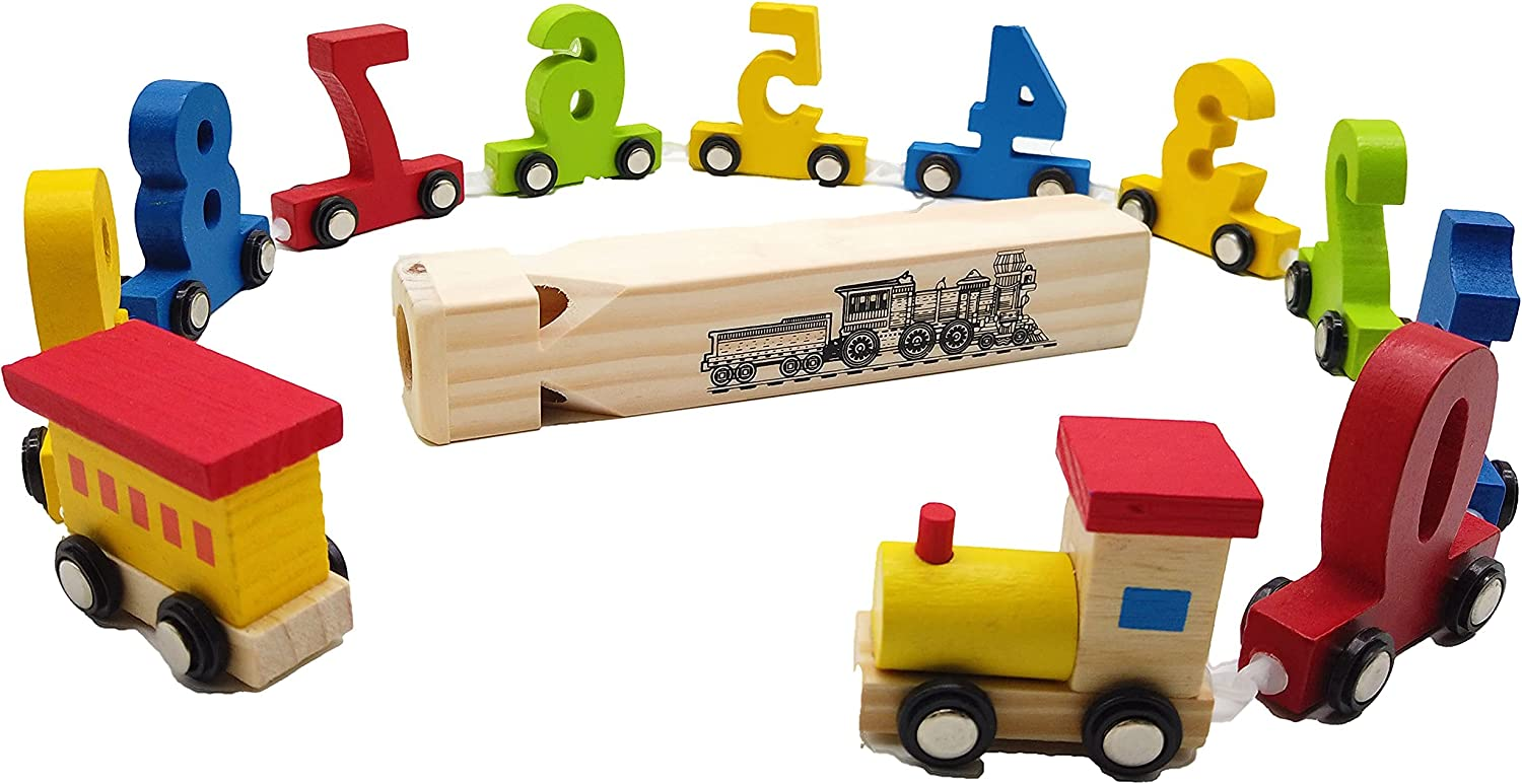 Ranking TOP8 NEWLAND Wooden Train Toy Set for Kids Portland Mall In Boys Girls and Toddler