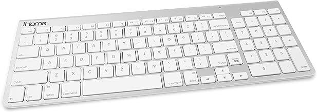 iHome Wireless Bluetooth Keyboard for Mac IMAC-K130 Silver
