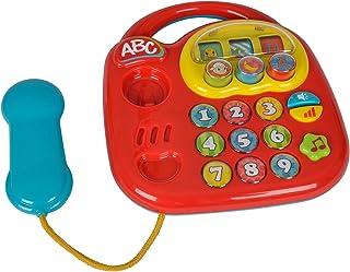 Simba ABC Telephone Toy Telephone, Orange