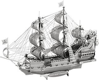 Metal Earth Fascinations ICX009502894–Construction Toy, Queen Anne's Revenge 2Metal Board (Ages 14+