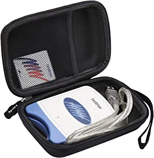 Aproca Hard Travel Storage Carrying Case For Brother PED-Basic Embroidery Card Writer