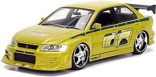 NEW 1:24 JADA TOYS DISPLAY FAST & FURIOUS - Green Brian`s Mitsubishi Lancer Evolution VII Diecast Model Car By Jada Toys (...