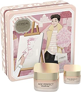 LOréal Paris Dermo Expertise Cofre Golden Age Incluye Contorno de Ojos Antiojeras y Crema de Día Fortificante Pieles Mad...