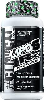 Best nutrex lipo 6x 120 caps Reviews