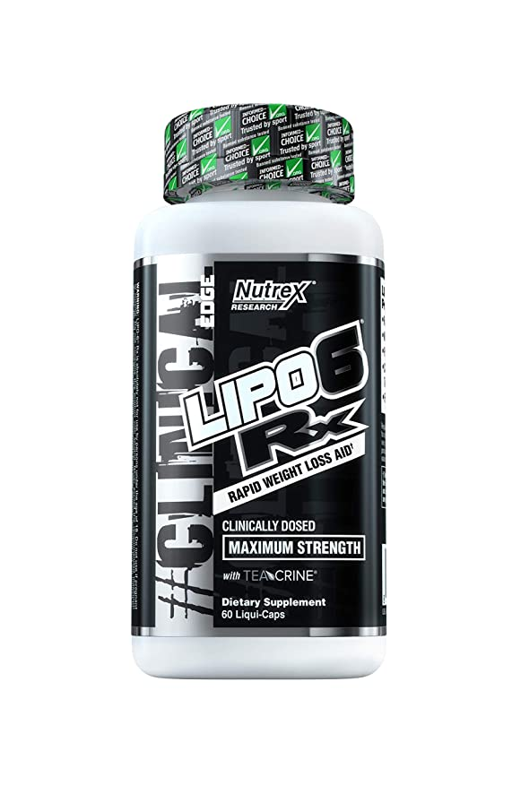 記憶大砲空気Lipo 6.(リポ6)RX Rapid Weight Loss Aid Maximum Strength 60 Liqui-Caps