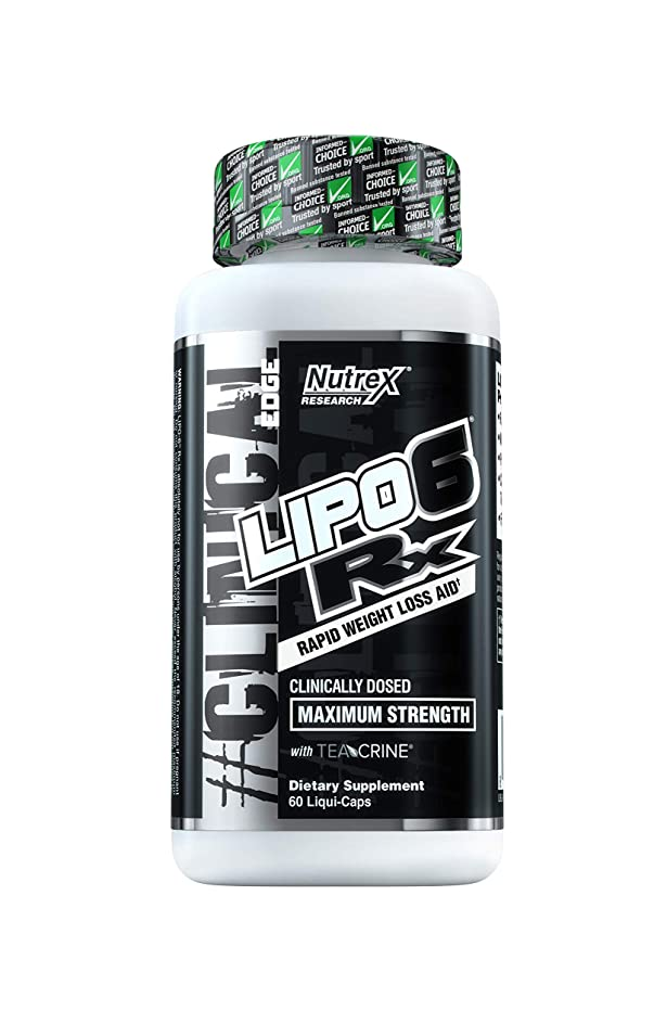 大工発掘するテープLipo 6.(リポ6)RX Rapid Weight Loss Aid Maximum Strength 60 Liqui-Caps