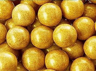 Shimmer Pearlescent Gold 1 Inch Gumballs 1 LB Bag