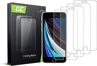 Green Cell Verre Trempé pour iPhone 6 6S 7 8 Se 2020 4X Protection d'écran Protecteur Vitre 9H Dureté Anti Rayures Haute Sensibilité Film Protection Tempered Glass Screen Protector