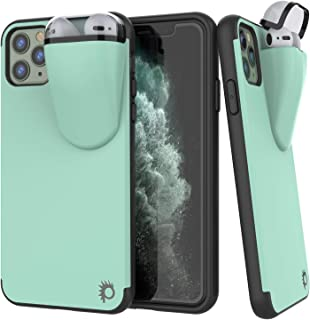 """Punkcase iPhone 11 Pro Airpods Case Holder (TopPods Series) 