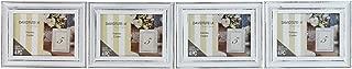 David Tutera Whitewash Frame - 3.5 x 5 inches - 4 Pieces