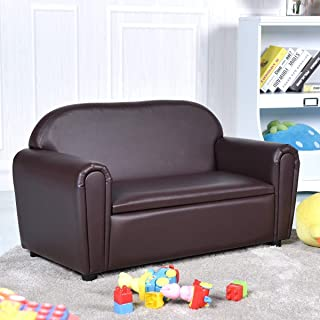 leather kids couch