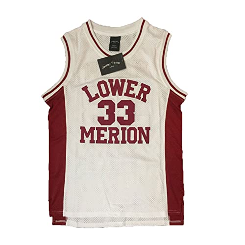 6ae9fd2184b9 JerseyFame Men s Basketball Number 33 Bryant Basketball Jersey White