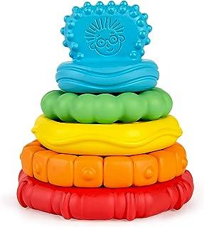 Baby Einstein Stack & Teethe™ Multi-Textured Easy-to-Grasp 5-Piece Teether Toy Set