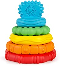 Baby Einstein Stack & Teethe Multi-Textured Easy-to-Grasp 5-Piece Teether Toy Set,..