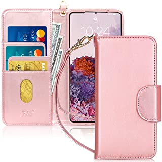 FYY Samsung S20 Plus Case, [Kickstand Feature] Luxury PU Leather Wallet Case Flip Folio Cover with [Card Slots] and [Note ...