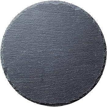 光洋陶器 天然石 ラウンドスレートプレート 20cm R5000005