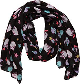 "Scarf Christmas Fashion Polyester Silk Feel Dog and Cat Theme 13/"" x 60/"" Scarves"