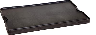Camp Chef Reversible Pre-seasoned Cast Iron Griddle, Cooking Surface 16
