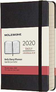 モレスキン 手帳 2020年 1月始まり 12ヶ月デイリーダイアリー ハードカバー ポケットサイズ ブラック DHB12DC2Y20-e