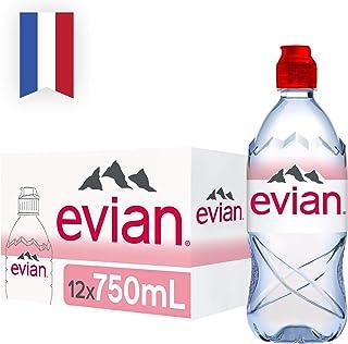 Evian Natural Mineral Water, 12 x 750ml