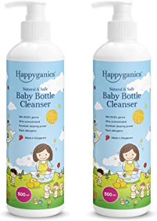 Happyganics Happyganics Baby Bottle Cleanser, Fresh Lemon (Bundle of 2), (Pack of 2)