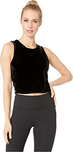 Top Notch Cropped Tank Top