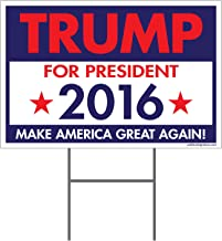 Imagine This Donald Trump for President 2016 Yard Sign